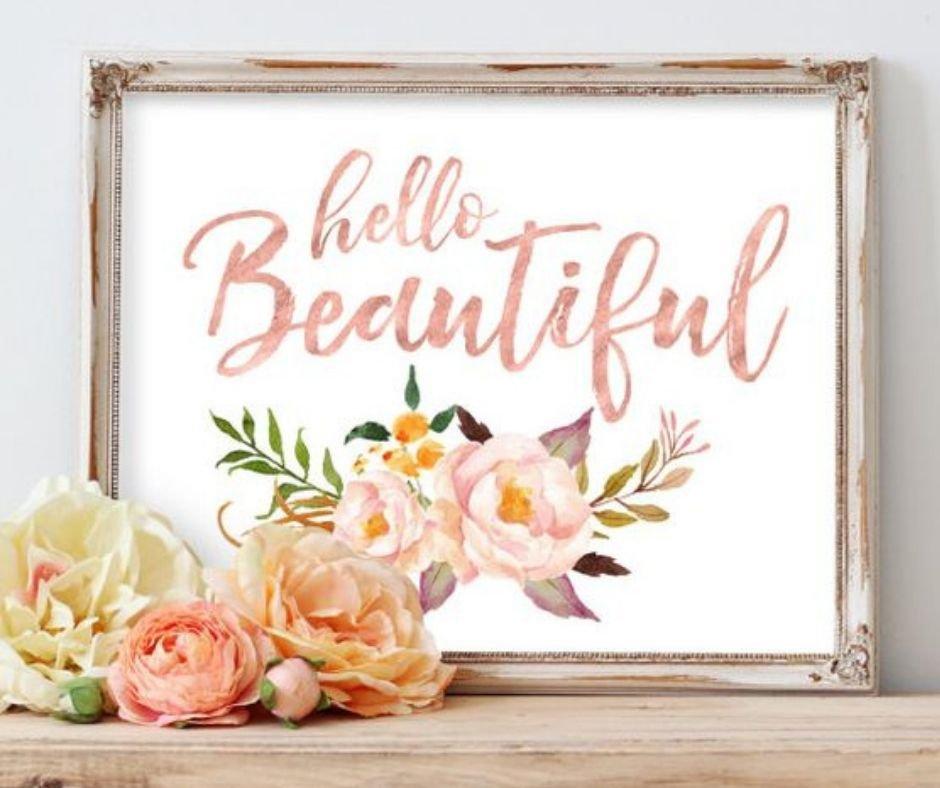 Hello Beautiful!