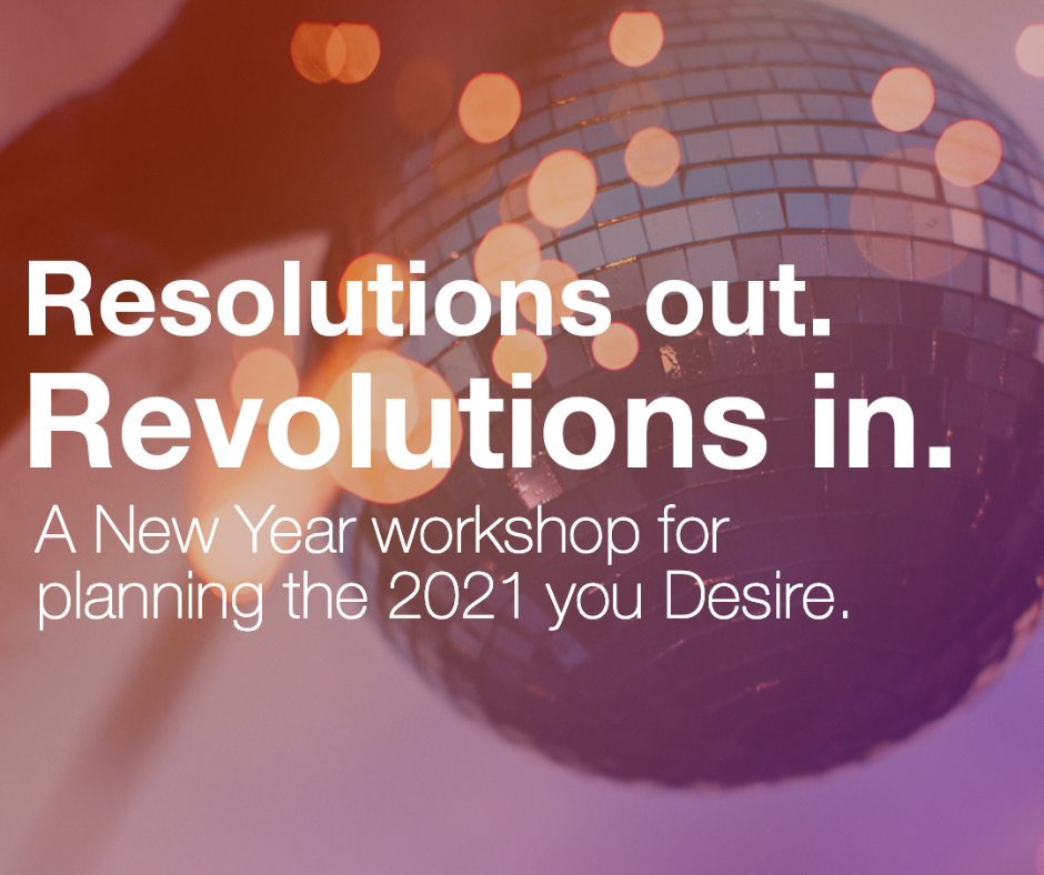 Year in Review - Resolutions Out Revolutions In